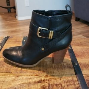Franco Sarto Block Heel Ankle Boots